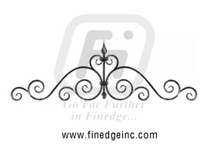 Wrought Iron gate tops - Ornamental Iron gate tops - gate tops - mild steel gate tops - cast iron gate tops - gate tops manufacturers exporters suppliers in india